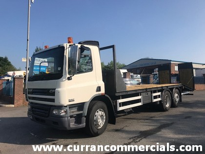 2005 daf cf 75 310 6x2 26 ton beavertail for sale