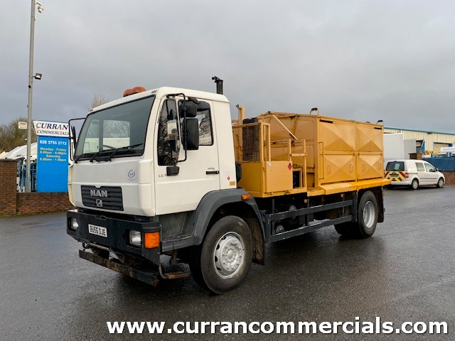 2007 man le18.220 4x2 18 ton tar hot box