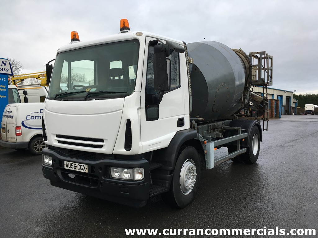 2007 Iveco Eurocargo 180E25 concrete mixer, 18T Manual, Hymix gear for sale