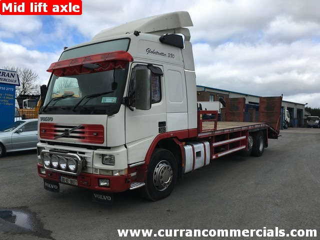 2000 Volvo FM12 380 globetrotter 26 Ton 30ft beavertail plant recovery body