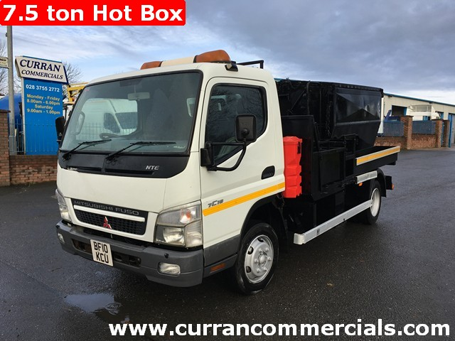 2010 Mitsubushi Canter Fuso 7c18 7.5 Ton Hot Box