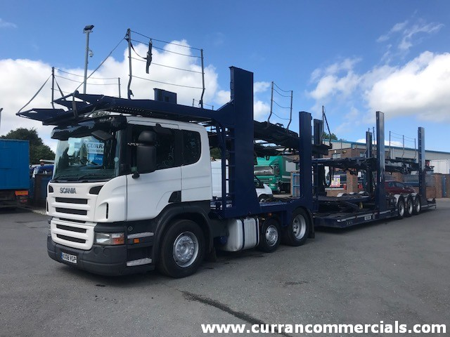 2008 scania p420 6x2 11 car transporter for sale