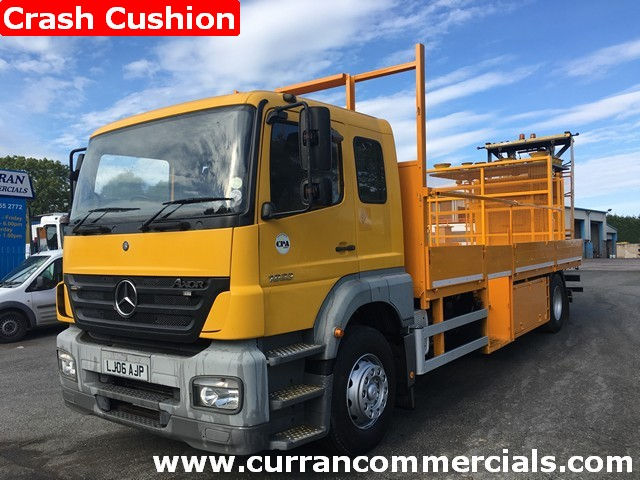 2006 mercedes 1823 axor18 ton traffic managment truck for sale