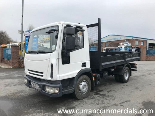 2008 iveco 75e16 7.5 ton dropside tipper for sale
