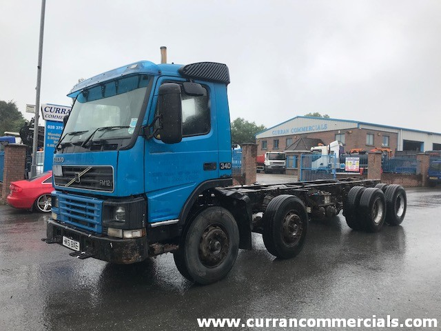 2001 volvo fm12 340 8x4 chassis cab for sale