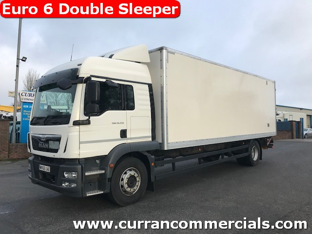 2016 man tgm 18.250 xlx euro 6 4x2 18 ton box with tail lift