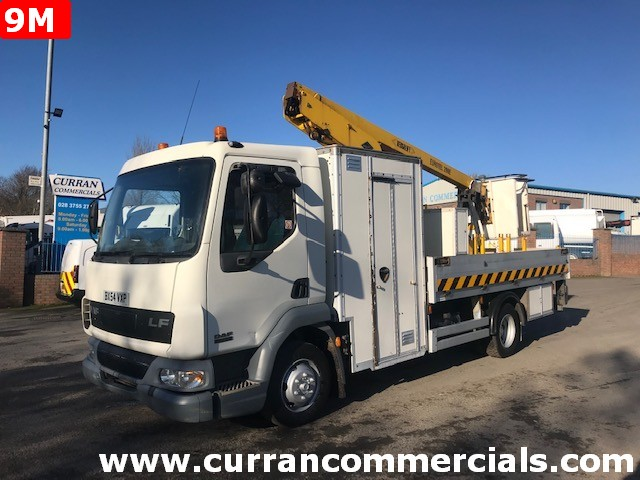 2004 daf lf 45 150 7.5 ton cherry picker for sale