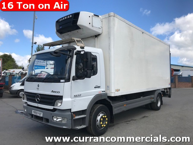 2010 mercedes atego 1624 16 ton fridge with tail lift