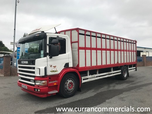 2003 scania 94d 230 4x2 23ft cattle lorry for sale