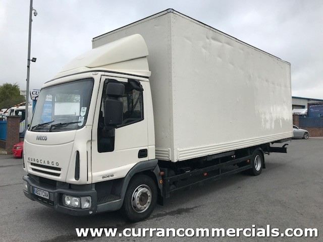 2007 iveco 80e18 7.5 ton 22ft furniture box