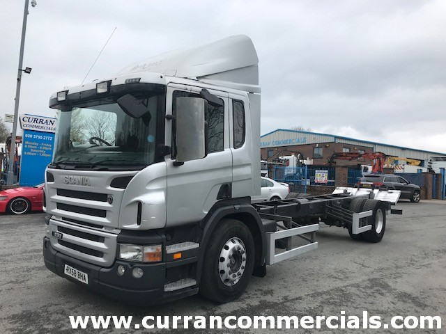 2008 scania p230 4x2 18 ton chassis cab for sale