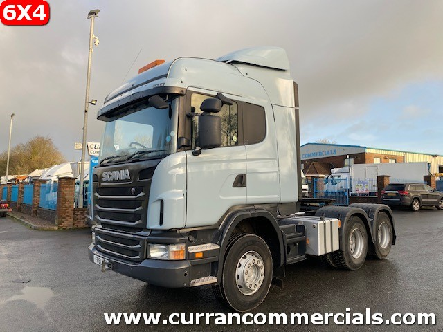 2012 scania r440 6x4 double drive tractor unit with tipping gear