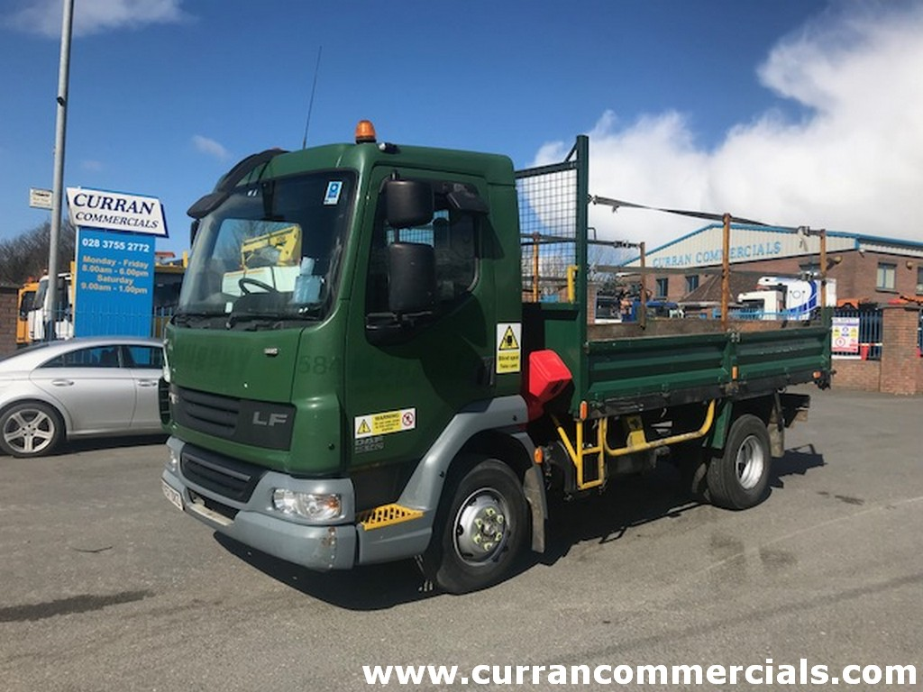 2007 daf lf 45 140 7.5 ton tipper for sale