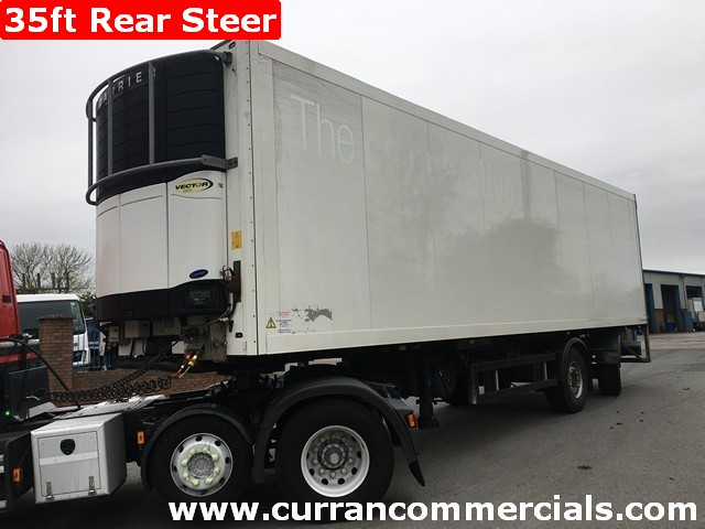 2008 schmitz 35ft fridge trailer with tail lift for sale