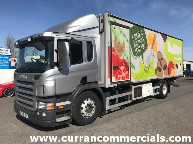 2008 scania p230 4x2 18 ton fridge or chassis cab for sale