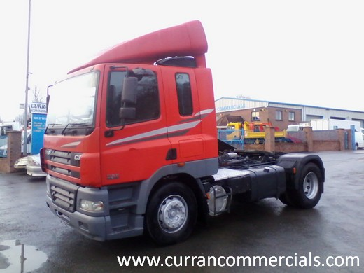 2004 daf cf 85 380 4x2 manual tractor unit with tipping gear for sale