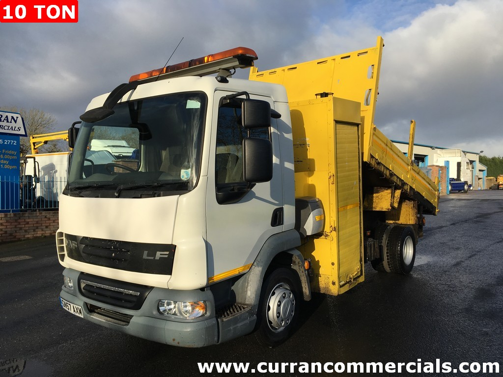2007 Daf LF 45 160 10 Ton DropSide tipper manual Low kms