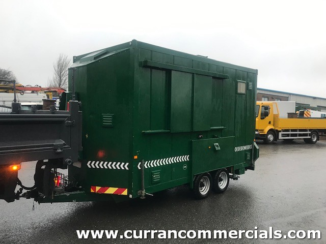 2003 2 axle welfare unit trailer