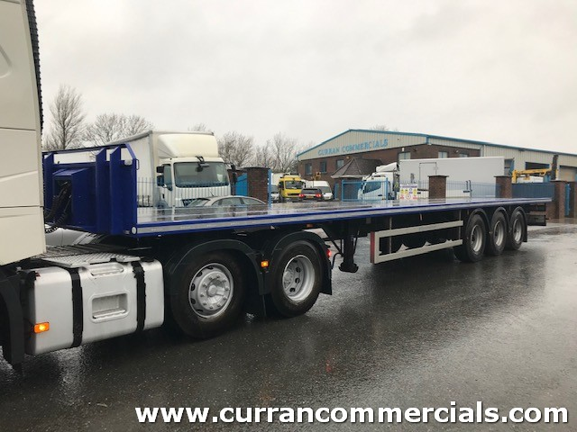 2018 montacon 45ft flat trailer for sale