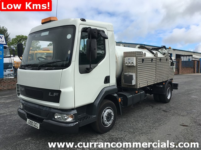 2006 Daf LF 45 150 10 ton with 2013 Battioni Vacuum pump gear Low Kms