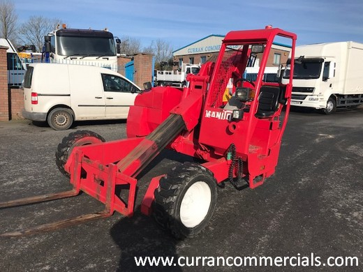 2002 monitou 2.5 ton truck mounted fork lift