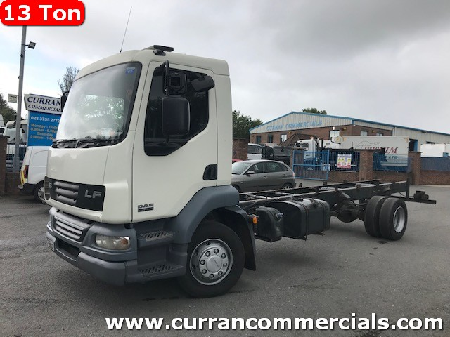 2007 daf lf 55 220 13 ton 22ft chassis cab for sale