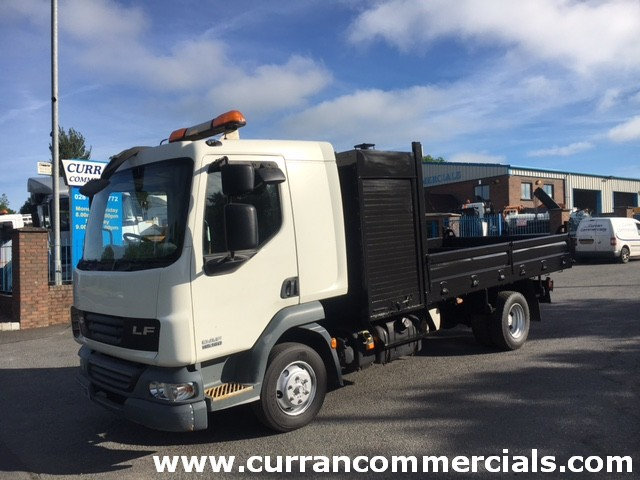 2008 daf lf 45 160 7.5 ton dropside tipper with tool box for sale