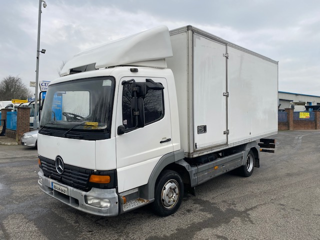 2003 mercedes atego 815 7.5 ton 16ft box