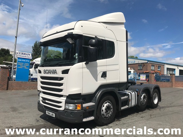2014 scania R450 high line 6x2 tractor unit for sale