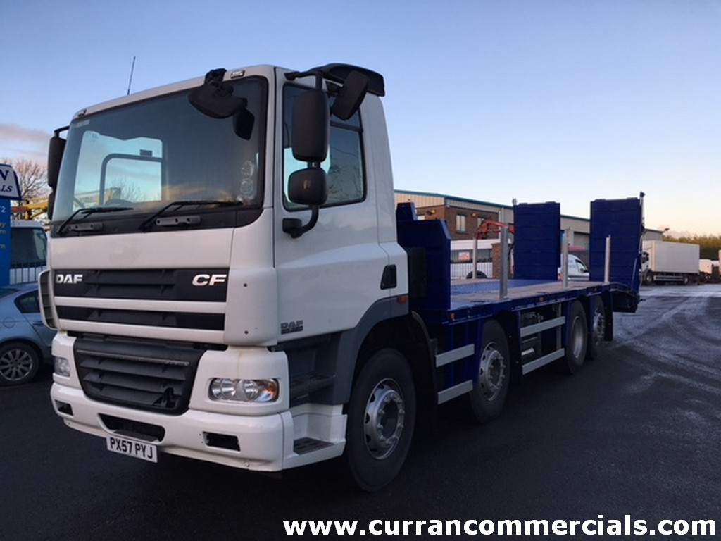 2007 daf 85 360 8x2 beavertail for sale