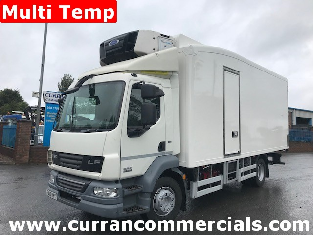 2013 daf lf 55 210 14 ton fridge lorry for sale