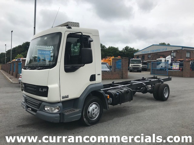 2011 daf lf 45 160 7.5 ton chassis cab for sale