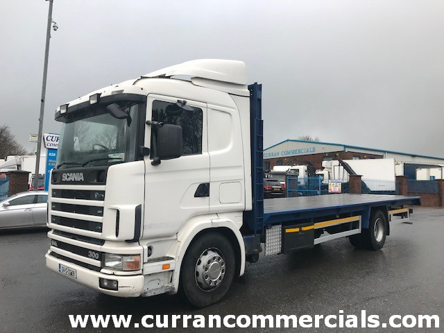 2004 scania 94d 300 4x2 flat bed for sale