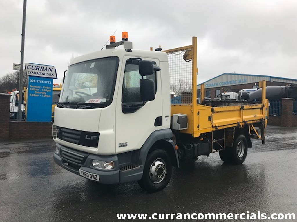 2010 daf lf 45 160 7.5 ton tipper for sale