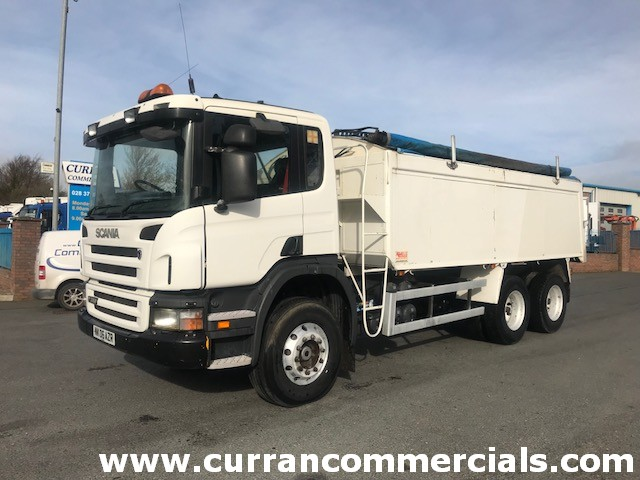 2006 scania p310 6x4 alloy tar spec tipper for sale